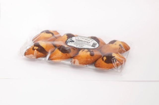 Madeleines chocolat x8