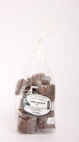 carrés au chocolat x10