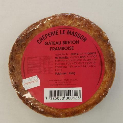 Gateau breton à la Framboise 450g